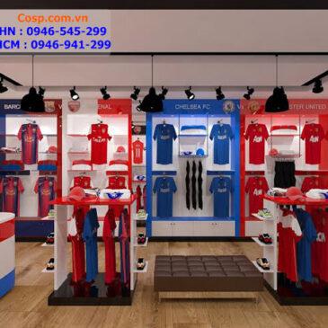 Mẫu thiết kế cửa hàng thể thao đẹp
