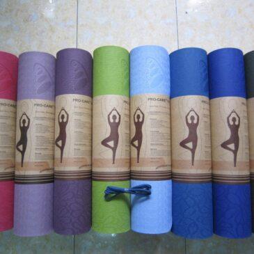 Thương hiệu thảm yoga nào được quan tâm nhất